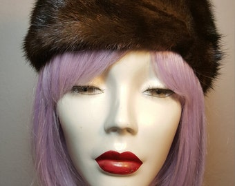FREE  SHIPPING      1950 mink hat