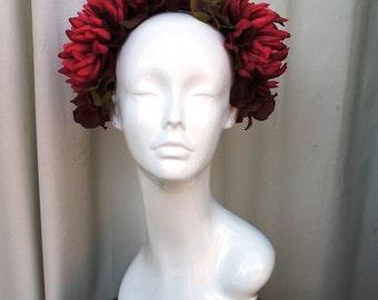 Queen Mum Floral Headpiece