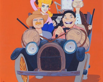 THE BEVERLY HILLBILLIES limited edition art print by Dave Woodman