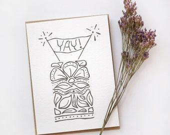Wedding Card, Engagement Card, Birthday Card, Floral Card, Celebration Card, Yay Card, Item #025