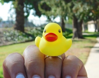 Rubber Ducky Ring