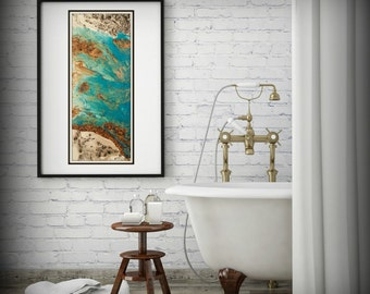 Large Vertical Wall Art minimalist art boho decor bohemian wall decor bedroom