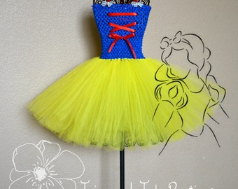 Snow White Tutu Costume Option 2 Princess Tutu Costume