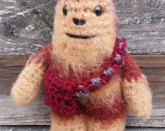 Chewbacca the Wookie Star Wars Figure Crochet Toy
