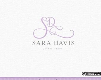 Premade Jewelry Logo, Jewellery Logo, Photography Logo, Wedding Logo, Watermark, Initials Logo, Business Logo, Signature Logo, Logo Design