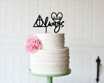 Custom Wedding Cake Toppers By ThePinkOwlDesigns On Etsy