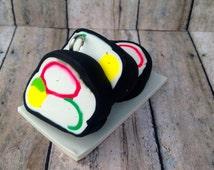 Sushi Ornament, California Roll ornament, sushi, sushi roll, sushi  christmas ornament,