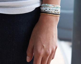 Beaded Wrap Around Bracelet - Wrap Bracelet