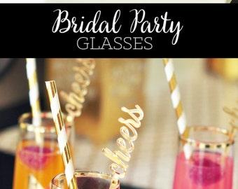 Bachelorette Party Favors Bachelorette Favors Glasses Cups (EB3143)