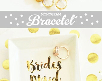 Personalized Bracelets for Women Personalized Jewelry Gift Initial Bracelet Gold Personalized Braclets (EB3144) Personalized Bracelet Gold