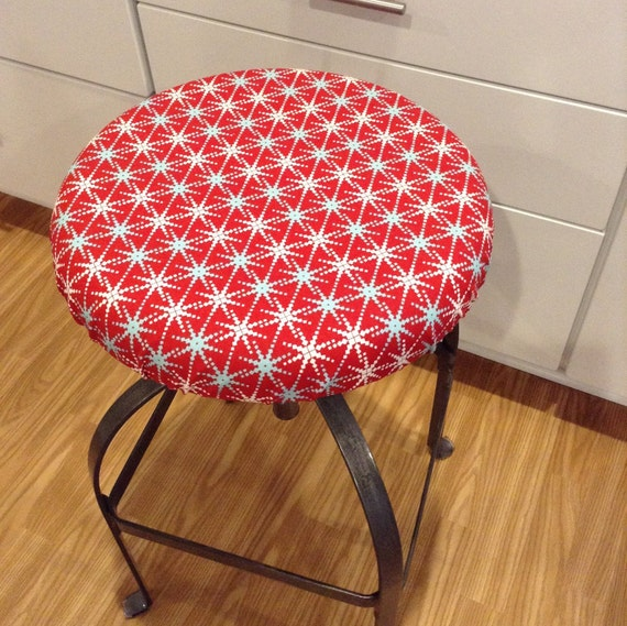 Items similar to Holiday print elasticized round barstool  : il570xN84924342359le from www.etsy.com size 570 x 569 jpeg 134kB