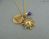 Emmêlés direct vous Dream or Sun Charm Necklace - Rapunzel