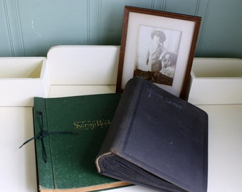 Vintage Scrapbook 1930's Golden Thoughts Poems A Girls Thought and Dreams