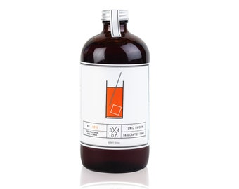 Tonic syrup to make your own natural tonic water for the best Gin and Tonic Ever! - Sirop tonique pour faire votre eau tonique naturelle!