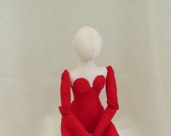 cloth doll blank