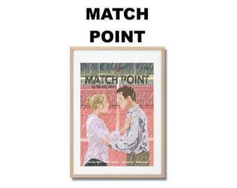 Match Point - Poster Woody Allen A3