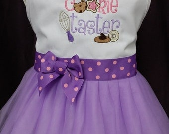 Cookie Taster Froo Froo Apron