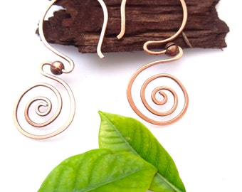 Spiral Thread Earrings(Thread 3)