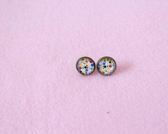 Mrs Dottie Earrings Studs 12mm