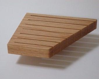 Knife Block, In-Drawer Knife Block, Large Size in Oak