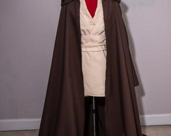 Handmade Adult Jedi Robe  Costume