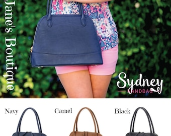 Sydney Monogram Handbags - Originally 36.00 - FINAL STOCK