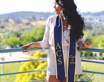 Custom Stoles - Perfect for graduations, homecoming, seniors, and many other