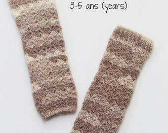 Legwarmers, boot cuff, crochet, hook, sock, winter accessory, ballet, child 3-5 years. Ready to ship!