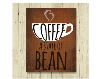 Coffee Magnet, Funny Magent, Funny Pun, Refrigerator Magnet, Coffee Lover Gift, Cute Fridge Magnet, Gifts Under 10, Small Gift, Gift Magnet