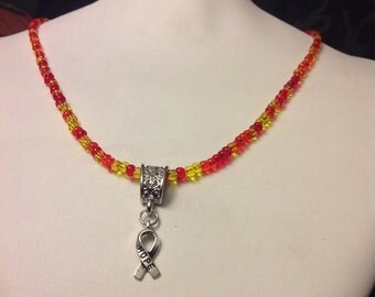 RSD/ CRPS Necklace with HOPE Ribbon
