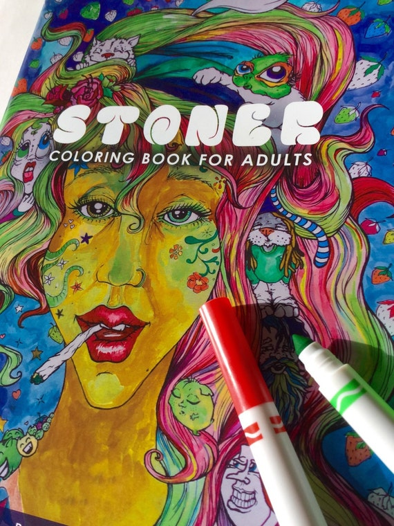 like this item - Cannabis Coloring Book