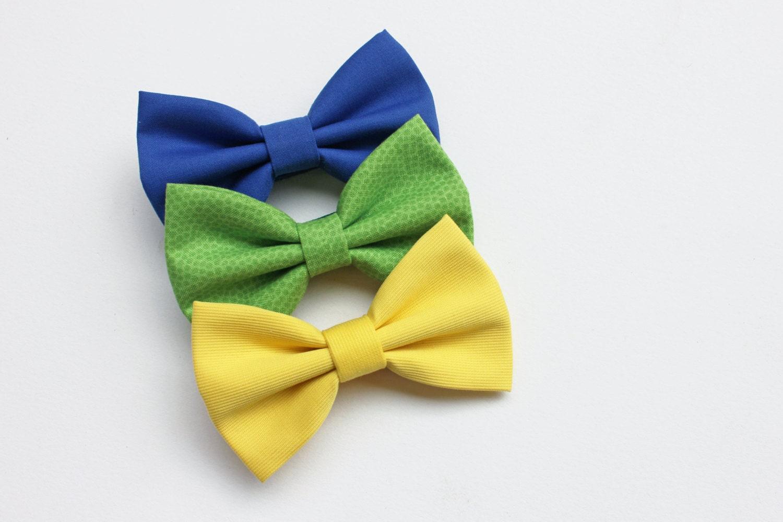 Papillon per bambino blu giallo verde mela verde menta for Papillon bambino fai da te