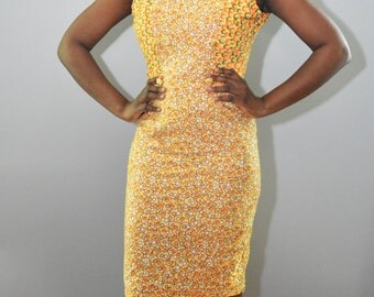 Fitted Knee-Length Dress