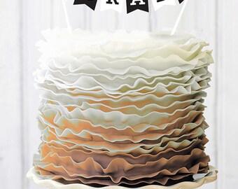 2016 Graduation Cake Topper
