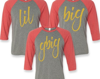 Big Little Sorority Shirts, Big Little Shirts, Big Little Gift, Big Little Reveal Shirts, Sorority Family Shirts, Big and Little Shirts