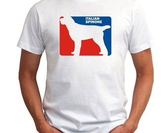 Italian Spinone Sports Logo T-Shirt