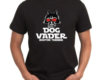 Dog Vader  Boston Terrier T-Shirt