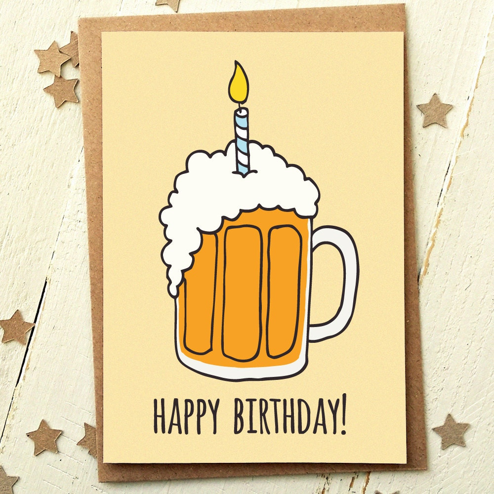 Friend Birthday Card Funny Birthday Card Card For