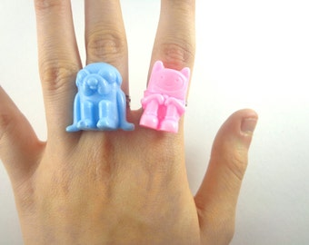Adventure time rings finn and jake