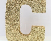 "9"" wooden gold glitter letter a-z 0-9 decor wall wedding decor glitter letters baby nursery glitter number wooden number"