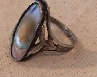 Vintage Sterling Blister Ring
