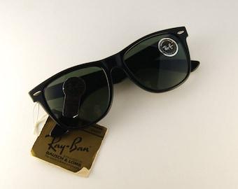N.B.W. Vintage Ray-Ban Wayfarer Frost  - Ray-Ban limited edition - Ray-Ban Sunglasses Bausch & Lomb - 80s sunglasses -  Rare Ray-Ban - NBW