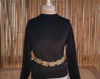Vintage Ornate link Belt