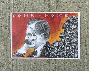 Come Home. Come Back  Postcard
