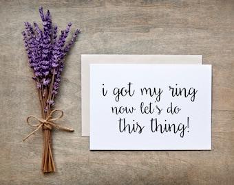 Will you be my Bridesmaid Card - Bridesmaid Card, Bridesmaid Gift, Bridesmaid proposal card, nc14