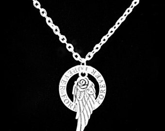Angel Wing Forever, Guardian Angel Necklace