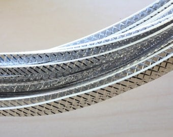 Aluminum Wire Flat  1 x 3mm.
