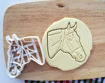 Mustang Cookie Cutter Horse Head Cookie Cutter Cupcake topper Fondant Gingerbread Pony Cutters Christmas Gift Idea