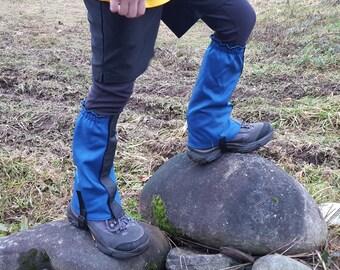 Kids' Hiking Gaiters Pattern Download; Sewing pattern and tutorial to make Children's Hiking Gaiters