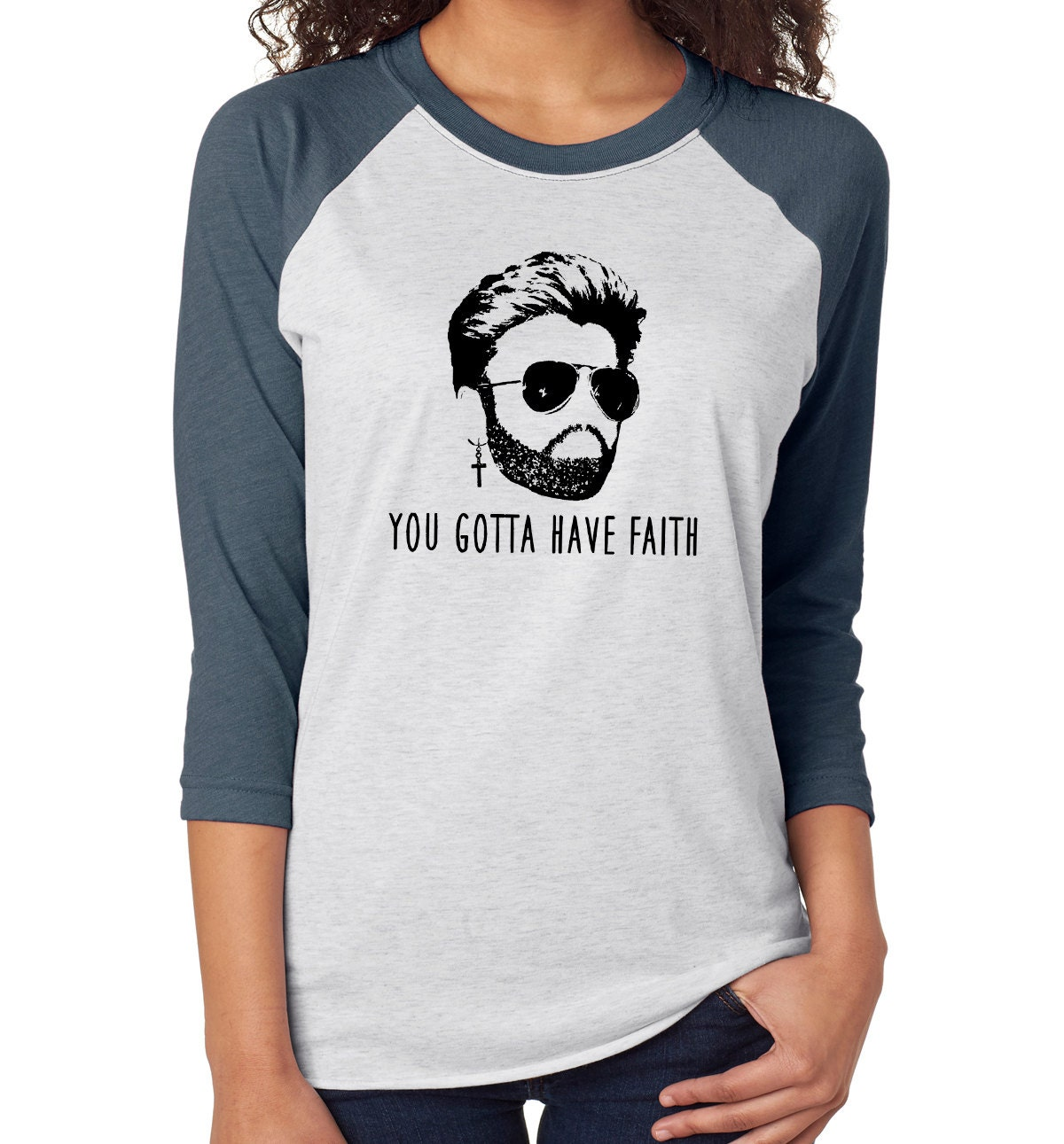 tee shirt femme george michael